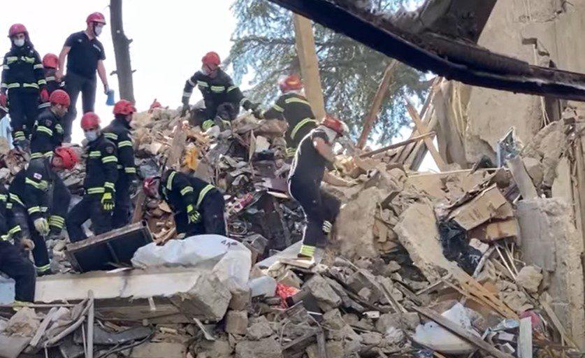 Γεωργία: Πέντε άνθρωποι έχασαν τη ζωή τους από την εν μέρει κατάρρευση κτιρίου στο Μπατούμι