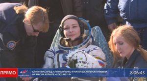 Η ρωσική ομάδα, που γύρισε την πρώτη ταινία στο διάστημα, επέστρεψε στη Γη