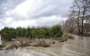 Αγρίνιο: Εκκενώθηκε προληπτικά οικισμός λόγω της ανόδου της στάθμης της λίμνης Λυσιμαχεία