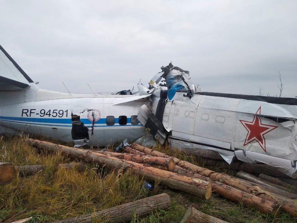 Ρωσία-Ταταρστάν: 16 νεκροί και 7 τραυματίες από συντριβή αεροσκάφους (Video)