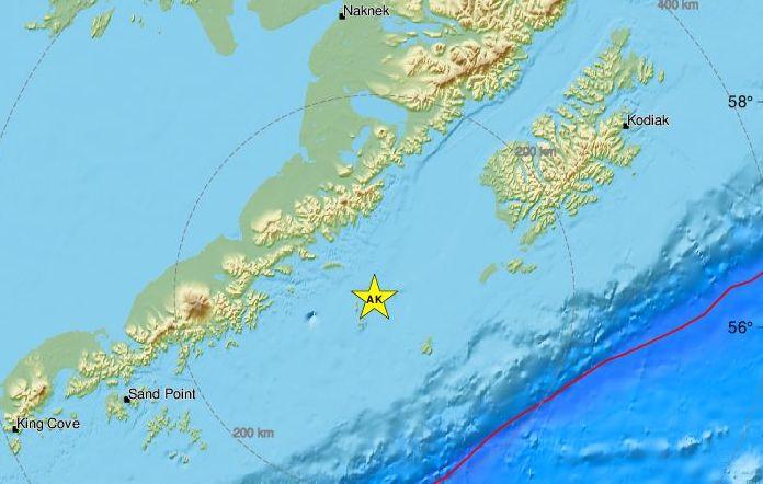 Σεισμός 6,5 Ρίχτερ στην Αλάσκα
