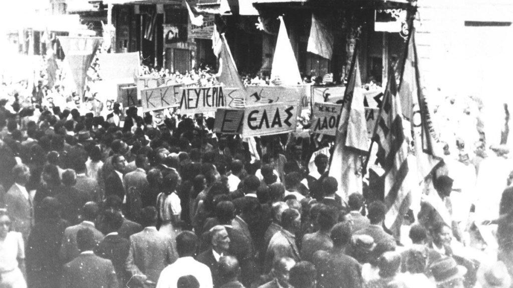 Φιλμ-ντοκουμέντο του Φίνου για την απελευθέρωση της Αθήνας