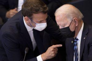 Νέα τηλεφωνική επικοινωνία Μπάιντεν και Μακρόν – Συνάντηση των δύο ηγετών στη Ρώμη