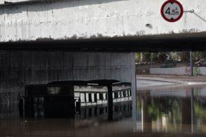 Ζερεφός: Μέσα σε λίγες μόνο ώρες έπεσε το 1/3 της βροχής που πέφτει συνολικά ετησίως