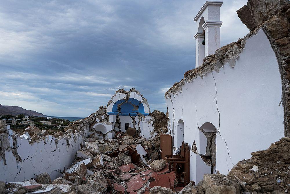Σεισμική δραστηριότητα στην Κρήτη: «Ανησυχούμε γιατί δεν έχουμε δει ακόμη μεγάλο μετασεισμό» (Video)