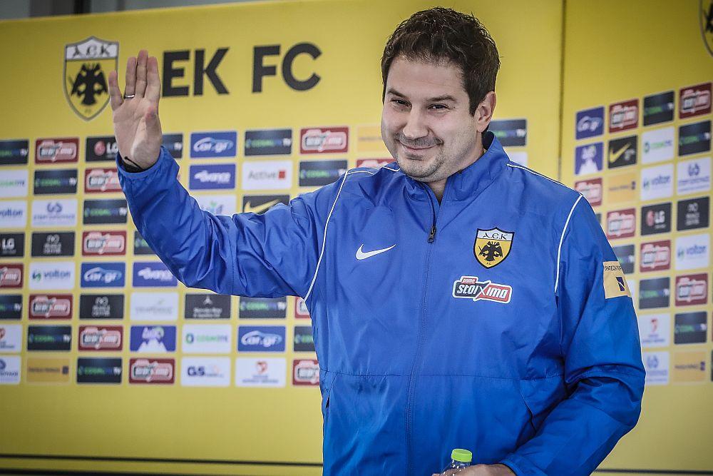 Αργύρης Γιαννίκης: «Οι παίκτες της ΑΕΚ έχουν την ποιότητα να παίξουν αυτό που θέλω»