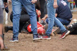 Γιαννιτσά: Βίντεο ντοκουμέντο από το σοβαρό ατύχημα στην πίστα motocross