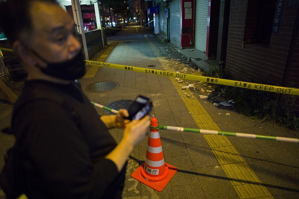 Ιαπωνία – σεισμός: Πάνω από 30 τραυματίες, οι τρεις σε κρίσιμη κατάσταση