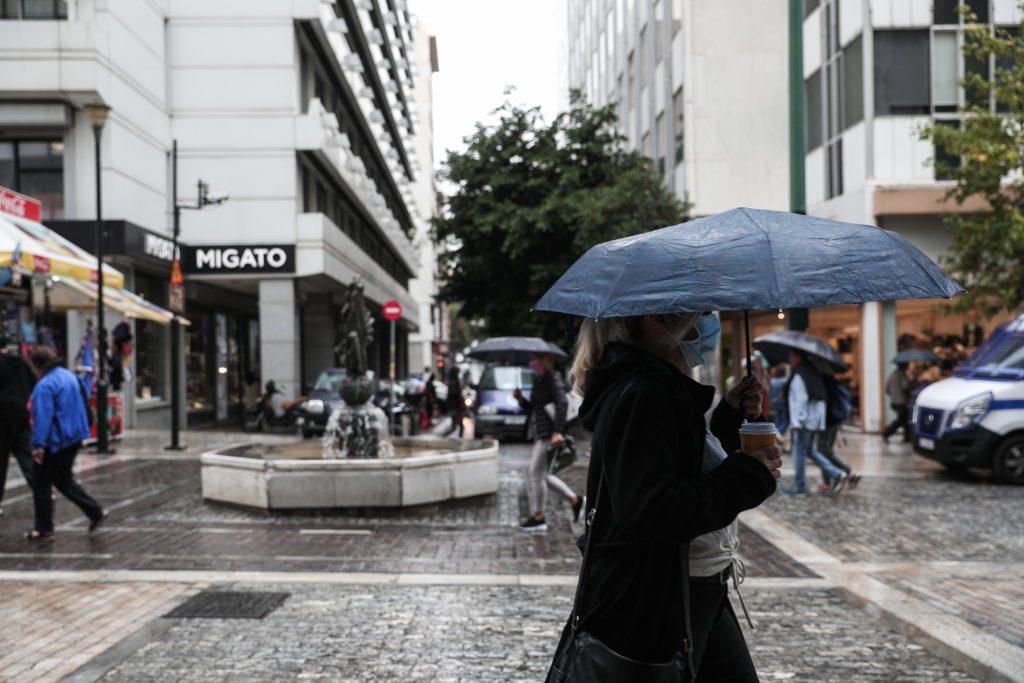 Κακοκαιρία «Αθηνά»: Ισχυρές βροχές και καταιγίδες και το Σάββατο –  Έντονες βροχοπτώσεις και στην πυρόπληκτη Εύβοια