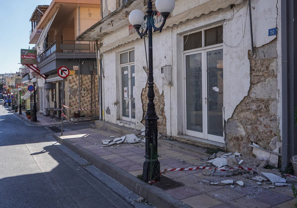 Άνοιξε η πλατφόρμα arogi.gov.gr για τους σεισμόπληκτους της Κρήτης