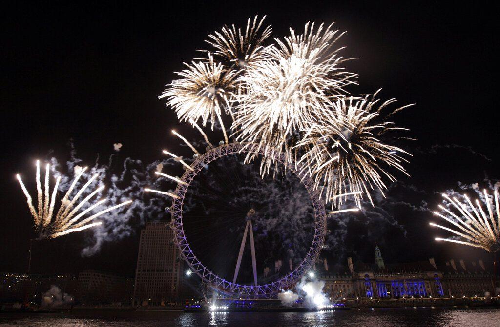 Λονδίνο: Χωρίς πυροτεχνήματα και φέτος η έλευση του Νέου Έτους λόγω κορονοϊού