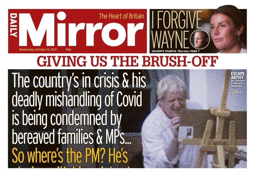 Οι Βρετανοί διαμαρτύρονται για τις πρώτες «ανέμελες» διακοπές του Μπόρις Τζόνσον – Που να 'ξεραν!