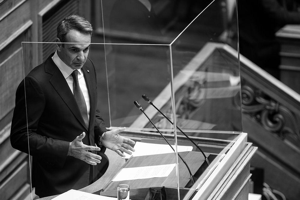 Κατώτερος των περιστάσεων ο Μητσοτάκης: «Από το όχι στις γραβάτες πήγατε στις φρεγάτες» (Video)