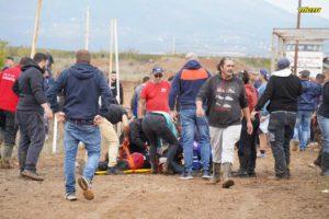 Γιαννιτσά: Δύο σοβαρά τραυματίες σε πίστα αγώνων μοτοκρός