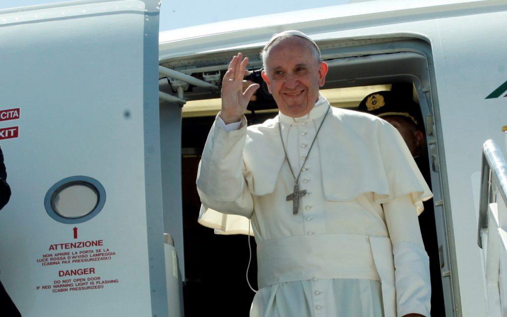 Στη Μυτιλήνη και πάλι ο Πάπας Φραγκίσκος