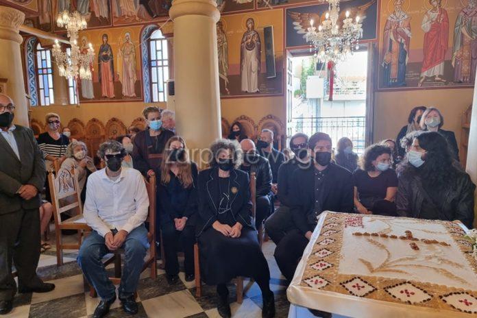 Χανιά: Τελέστηκε το 40ήμερο μνημόσυνο γα τον Μίκη Θεοδωράκη, στον Γαλατά