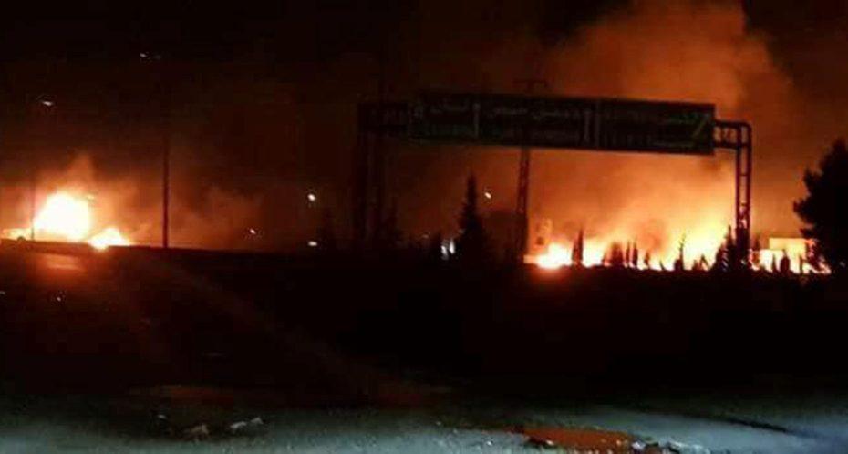 Συρία: Δύο νεκροί από ισραηλινό πλήγμα σε στρατιωτικό αεροδρόμιο