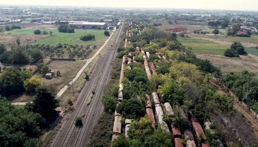 Ένα από τα μεγαλύτερα νεκροταφεία τρένων στον κόσμο βρίσκεται στη Θεσσαλονίκη (video)