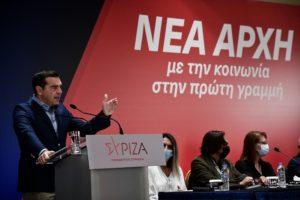 Τσίπρας: Νίκη του ΣΥΡΙΖΑ για την απαλλαγή της κοινωνίας από το «φαύλο καθεστώς Μητσοτάκη»